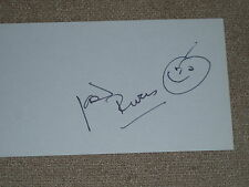 "Joan Rivers Authentic in Person Signature and Sketch on 3x5 card..""Mint"""