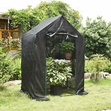 Portable Warm Garden Greenhouse Cover Shed Storage Protection Plant Shelf Shade