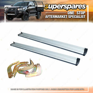Superspares Side Steps Kit for Holden Rodeo RA 03/2003 - 2006 Dual Cab