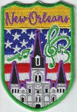 New Orleans Louisiana Souvenir Patch
