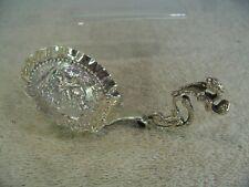 Large Dutch Solid Silver Caddy Spoon, S & H Reitsma, Sneek 1896