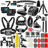 GoPro HERO7 Black 4K 12MP Digital Camcorder +32GB Deluxe Mega Bundle Accessories
