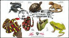 2003 - Pugh - Reptiles & Amphibians - #3814-3818