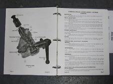 1960-73 Cushman Motor Vehicles Shop Service Manual Owners Manual 807813