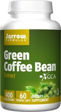 Jarrow Formulas  Green Coffee Bean Extract, 400mg  - 60vcaps Free Uk P&P
