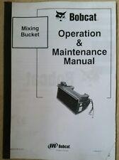 Bobcat SECCHIO MISCELAZIONE Manuale Operatori