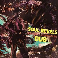 Bob Marley & The Wailers SOUL REBELS DUB Limited NEW SEALED Red Colored Vinyl LP