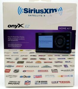 SiriusXM Satellite Radio onyX EZ Radio With Home Kit, Model #XEZ1H1, NEW in Box