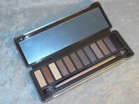 Okalan Color Natural Eyeshadow Palette Silver Tin Neutral Smoke Cosmetics Makeup