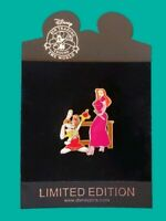 Disney Pin Back to School Series Jessica & Roger Rabbit School Teacher LE 250