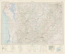 Russian Soviet Military Topographic Maps - BOGOTA (Colombia) 1:1M, ed. 1966, PVO