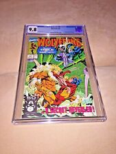 Wolverine #41, CGC 9.8, White Pages
