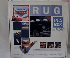 BOX FLOR DISNEY PIXAR CARS STICKS & UNSTICKS RUG  WALL DECORATION