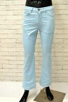 Pantalone JUST CAVALLI Uomo Taglia 42 Jeans Pants Man Azzurro Cotone Elastico