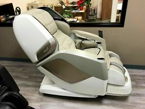 Osaki OS-Pro Maestro Massage Chair Zero Gravity Recliner with Heat - Beige Color
