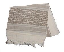 Tactical Military Desert Shemagh Head Neck Wrap Keffiyeh Scarf, Sand / Tan
