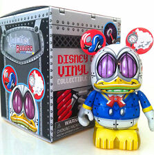 "DISNEY VINYLMATION 3"" ROBOTS SERIES 3 DONALD DUCK BOT COLLECTIBLE TOY FIGURE"