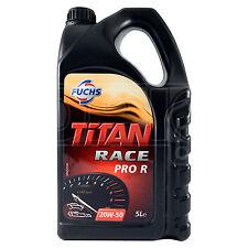 Fuchs Titan Race Pro R 20W-50 Ester Synthetic Engine Oil 5 Litres 5L 20w50