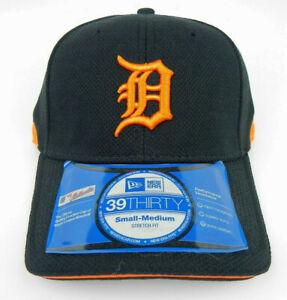 DETROIT TIGERS MLB NEW ERA 39THIRTY STRETCH-FIT BP CAP HAT SIZE ADULT S/M NWT!