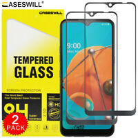 For LG Reflect - Caseswill Full Coverage Tempered Glass Film Screen Protector