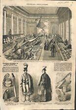 Paris Exposition dans les galeries du Palais-Royal recueillis ILLUSTRATION 1857