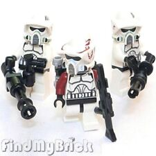 SW147 III x3 Lego Star Wars ARF & Elite Clone Trooper Minifigures 7914 9488 NEW