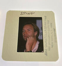 Sting Police Celebrity Music 35Mm Transparency Slide