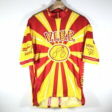 Vomax Cycling Jersey MS Tour 2005 VIBE VOLVO Jack Daniel's Men's XL