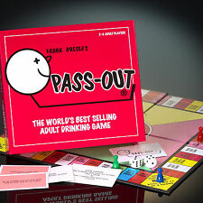 Pass Out Drinking Game World Best Selling Adult Board Party Game UK