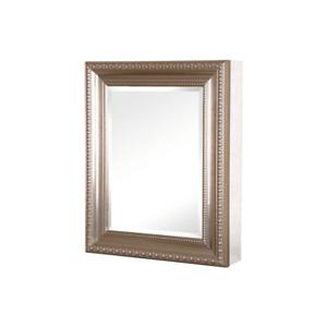 24 W x 30 H Framed Recessed Surface-Mount Medicine Cabinet Door Brushed Nickel