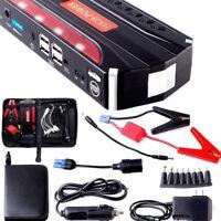 68800mAh 4USB Kfz Jump Starter Notfall Ladegerät Booster Power Bank Batterie WYS