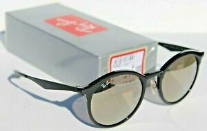 RAY-BAN Emma RB4277 Sunglasses Black/Light Gold Flash Mirror 601/5A NEW Italy