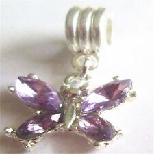 European charm handmade beadS DIY Fit 925 Silver Necklace Bracelet Jewelry #222