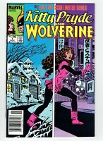 Kitty Pryde and Wolverine #1  Canadian Newsstand Price Variant Rare 1984