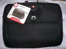 "Wenger Swissgear Grid Laptop Case Notebook 15.4"" Black"