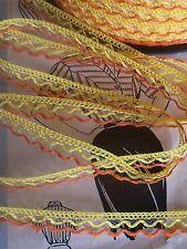 DENTELLE GAUVAIN SOLEIL ORANGE vendu par multiple de 3 mètres soit 0,40/ mètre