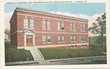 Ligonier PA * American Telephone & Telegraph Repeating Station ca. 1920   ATT