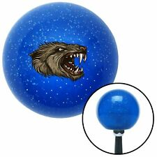 Beast Head Blue Metal Flake Shift Knob hot rod big dog 956 409 bert wide 5 911