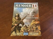 Memoir '44 Board Game Replacement Pieces Parts Rules & Battle Booklet Manual