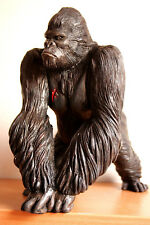 Figure Gorillas King Kong Sculpture Author's Sculpture Collectible Figure