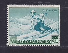 SAINT MARIN AERIENS N° 100 ** MNH neuf, plis de gomme, B/TB, cote:125 € (LOT969)