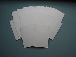 Pack of 15 sheets, Size 9 x 7 inch. Mount Board, Craft Board. Ivory