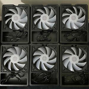 Antec ARGB LED Case Fans PWM 6 X 120mm Pack