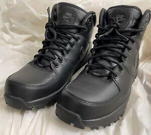 Men's Nike Manoa Leather Black (454350 003) - 8