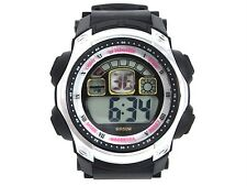 Men School Boys Digital Sports Watch Alarm Calendar Watchlight Timer Plastic New