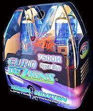 Cool Blue/White 9006 Xenon Low Beam Headlights Fits 2003-2008 Isuzu Ascender