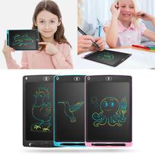 "Kids 8.5""/10""/12"" Electronic Digital LCD Writing Pad Tablet Graphics Drawing UK"
