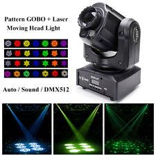 Pattern Gobo Laser Moving Head Light Beam LED Stage Light DMX Disco Party DJ KTV