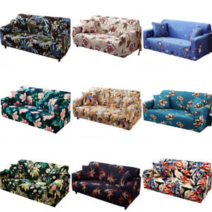 Sofa Covers Slipcover 1 2 3 4 Seater Stretch Couch Chair Loose Cover Elastic