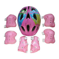 Kids Helmet and Knee Pads Roller Skating Elbow Wrist Guard Sport Protective Gear